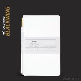 palomino blackwing notebook slate white ruled penman