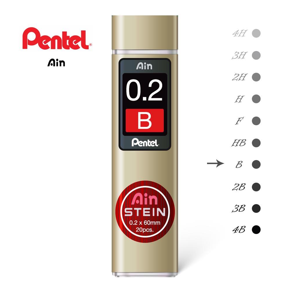pentel ain stein 02 B penman