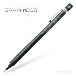 pentel graph1000 forpro 05 black penman