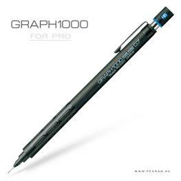 pentel graph1000 forpro 07 black penman