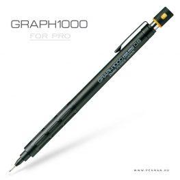 pentel graph1000 forpro 09 black penman