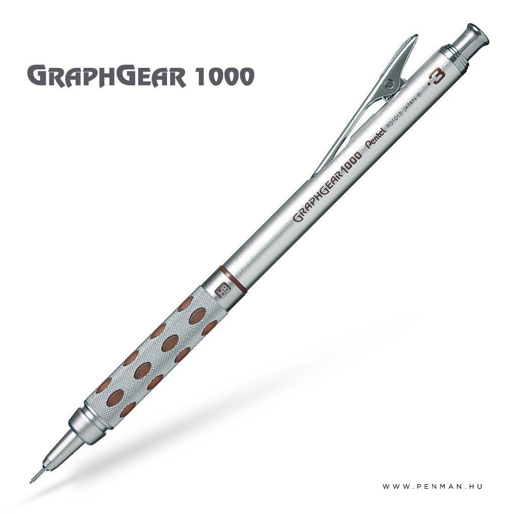 pentel graphgear1000 03 penman