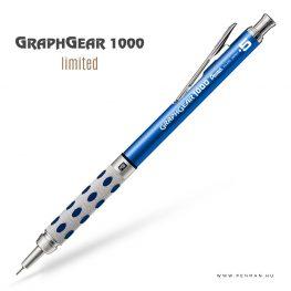 pentel graphgear1000 05 limited blue penman