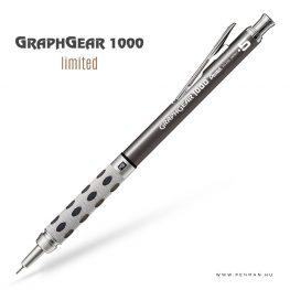pentel graphgear1000 05 limited gun penman