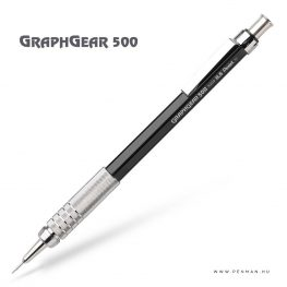 pentel graphgear500 05 black penman
