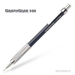 pentel graphgear500 07 blue penman