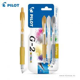 pilot g2 metallic tollkeszlet
