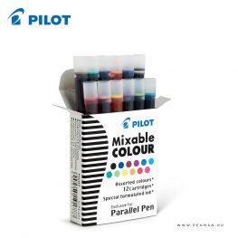 pilot parallel pen mixable color 12 mix 001