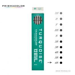 prismacolor turquoise 2mm grafit 6b penman