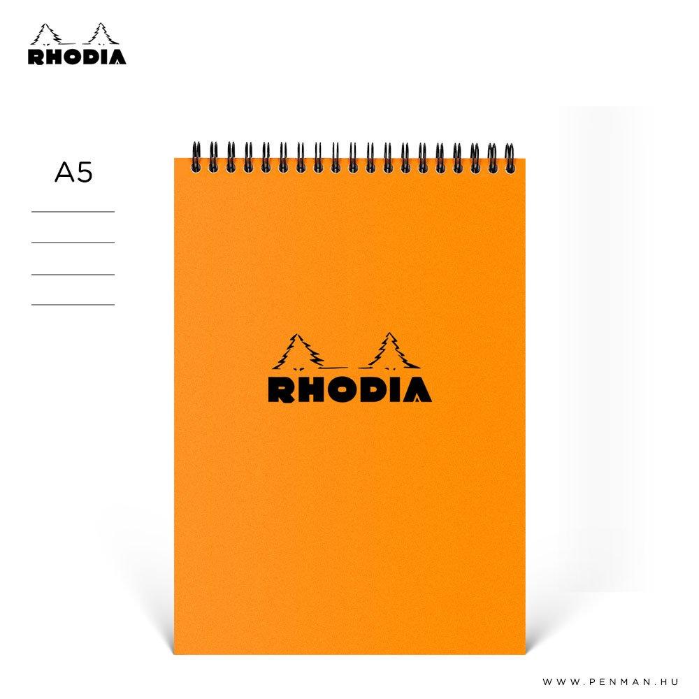 rhodia a5 vonalas rs 001