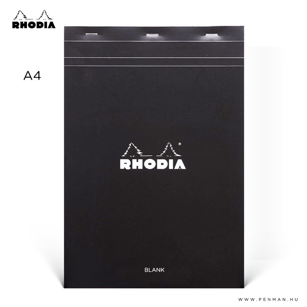 rhodia dotpad a4 ures fekete 001