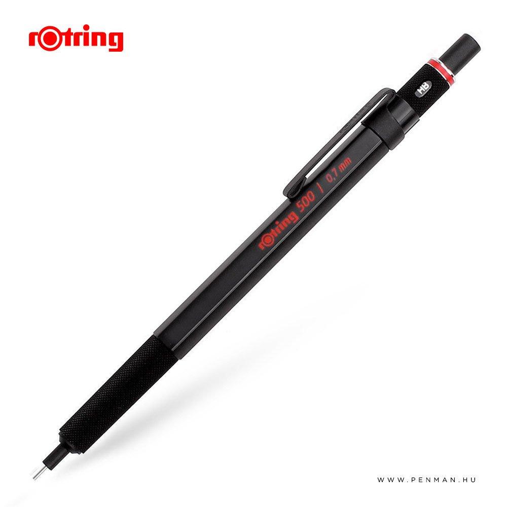 rotring 500 07 black mechanikus ceruza
