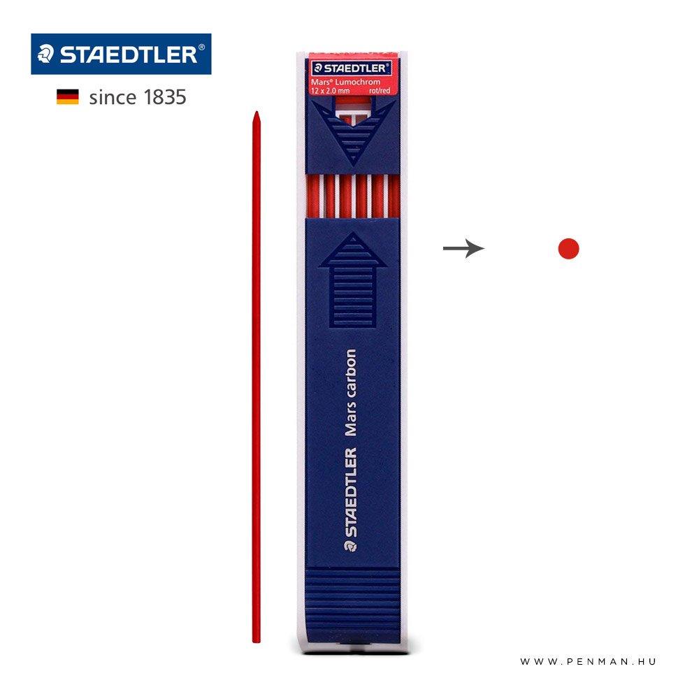 staedtler 2mm grafit mars carbon piros penman