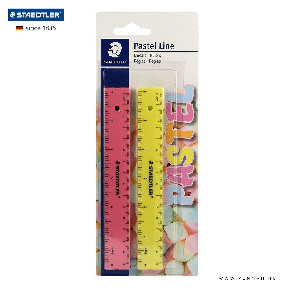 staedtler vonalzo 15cm pastel line 1001