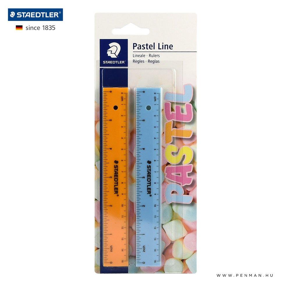 staedtler vonalzo 15cm pastel line 1002