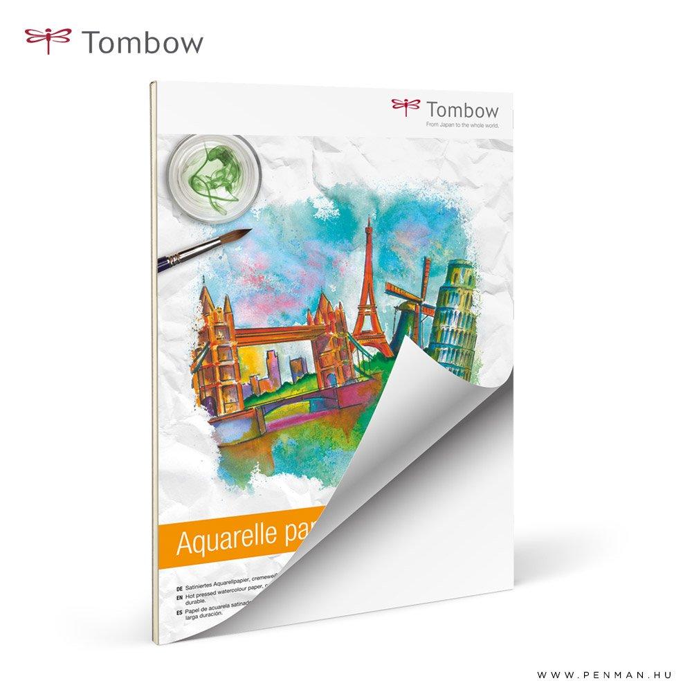 tombow aquarell papir 300g 24 32 rr lap penman