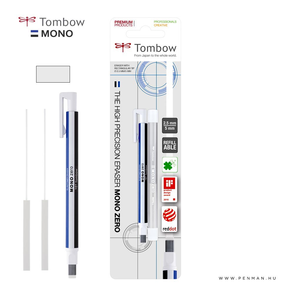 tombow mono zero 5mm set 001