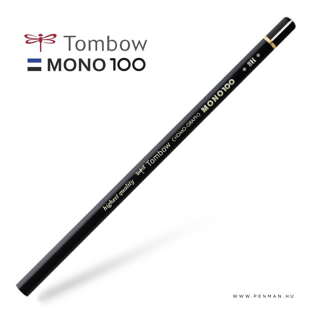 tombow mono100 8H penman