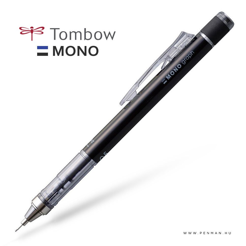 tombow monograph shaker 05 black penman