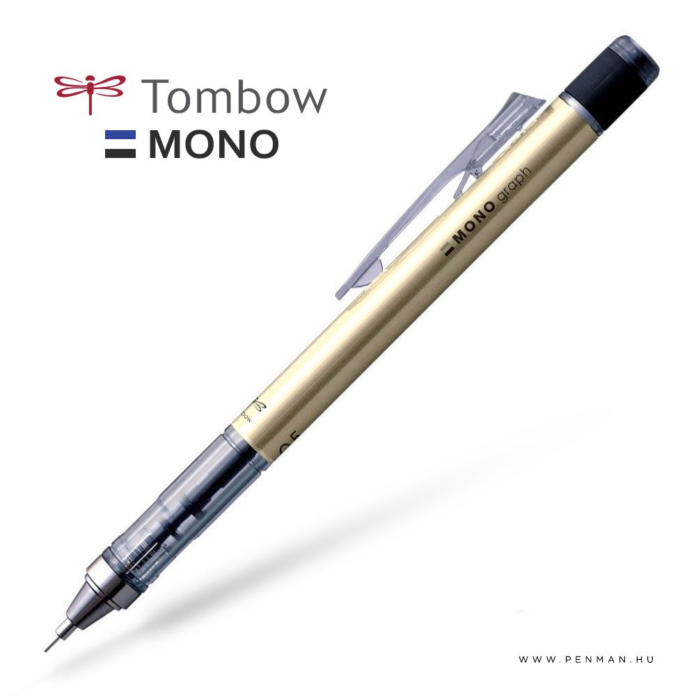 tombow monograph shaker 05 gold penman