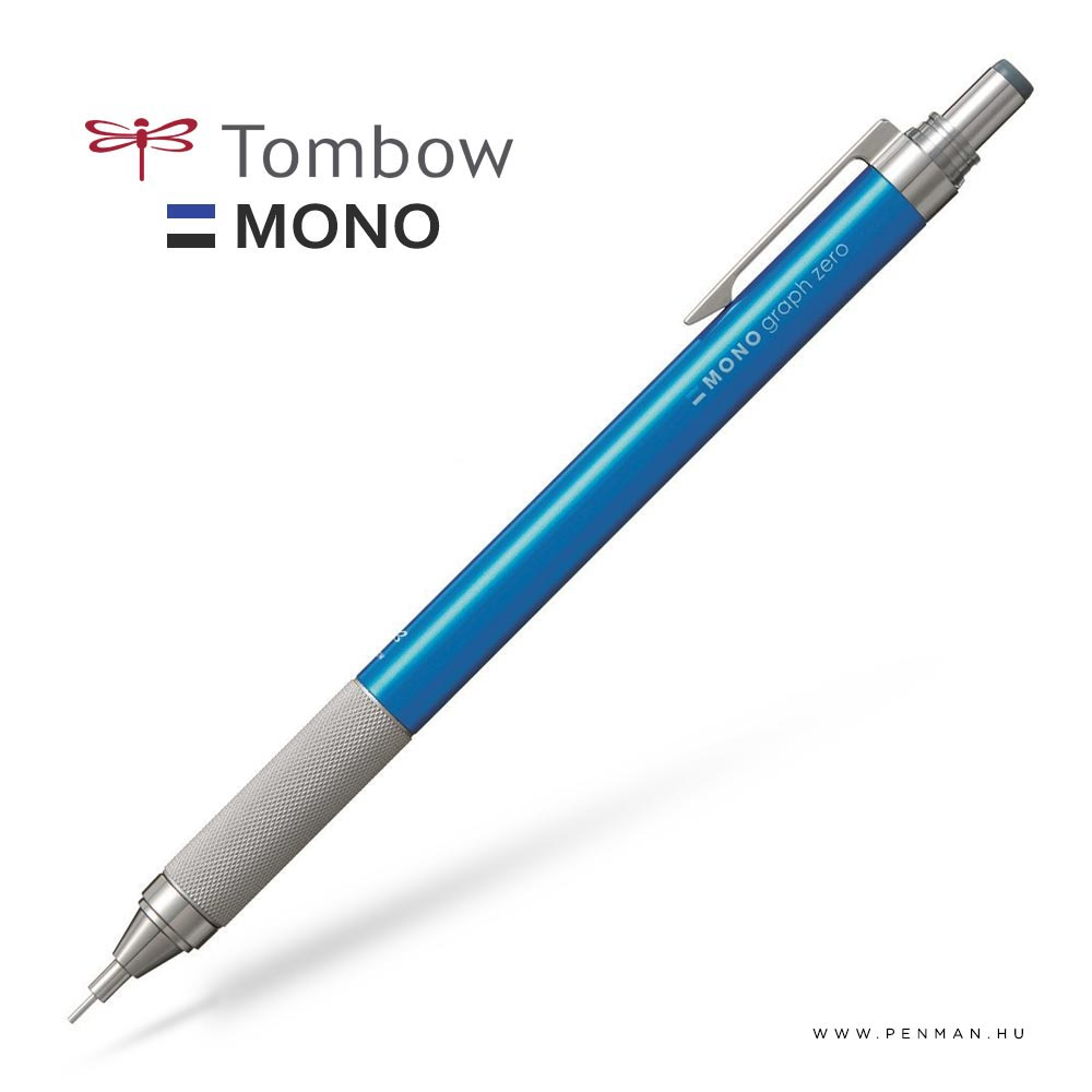 tombow monographzero 05 blue penman
