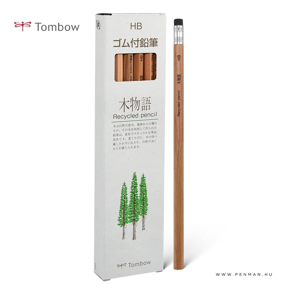 tombow ujrahasznositott ceruza radirral doboz 001