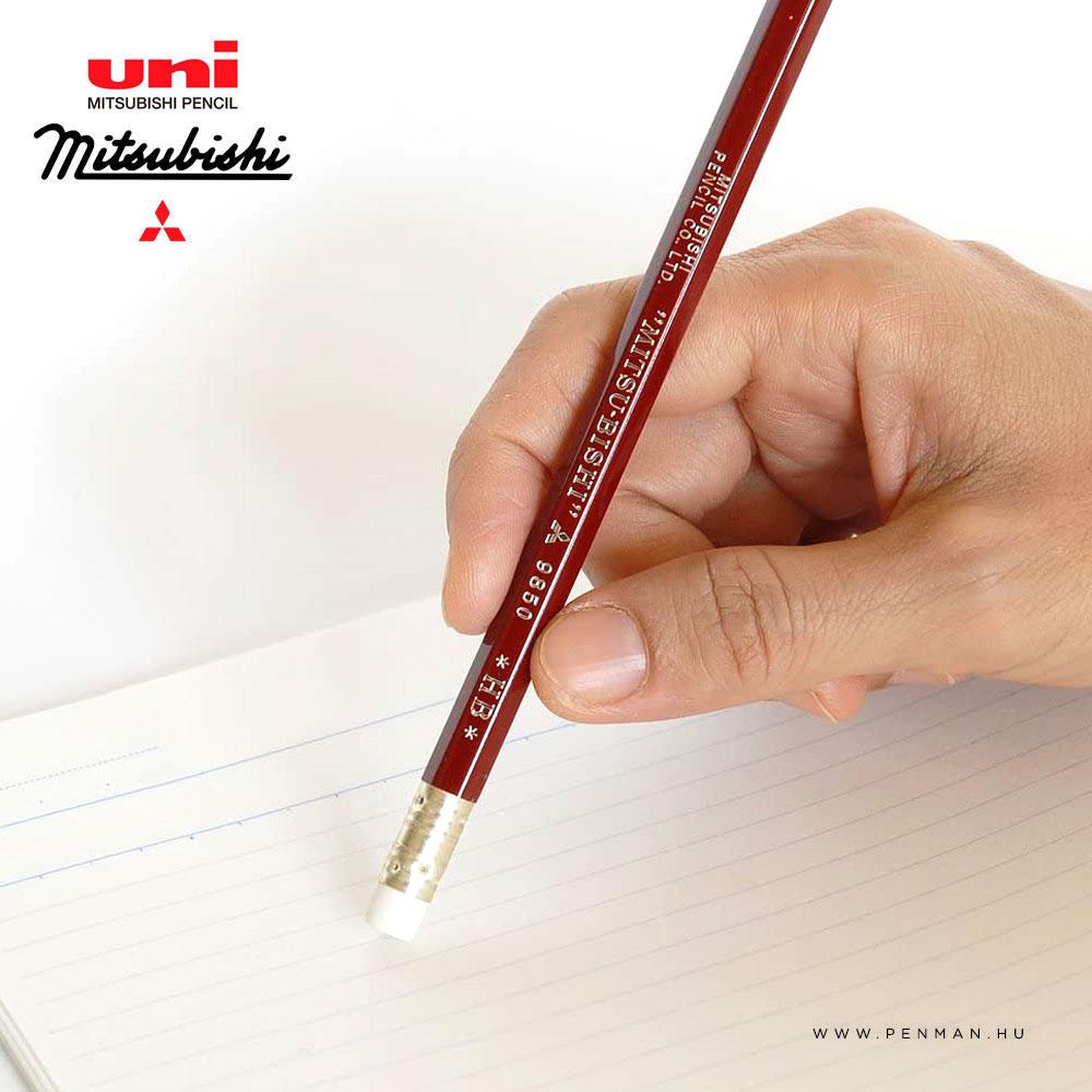 uni 9850 hb grafit ceruza db 001 02