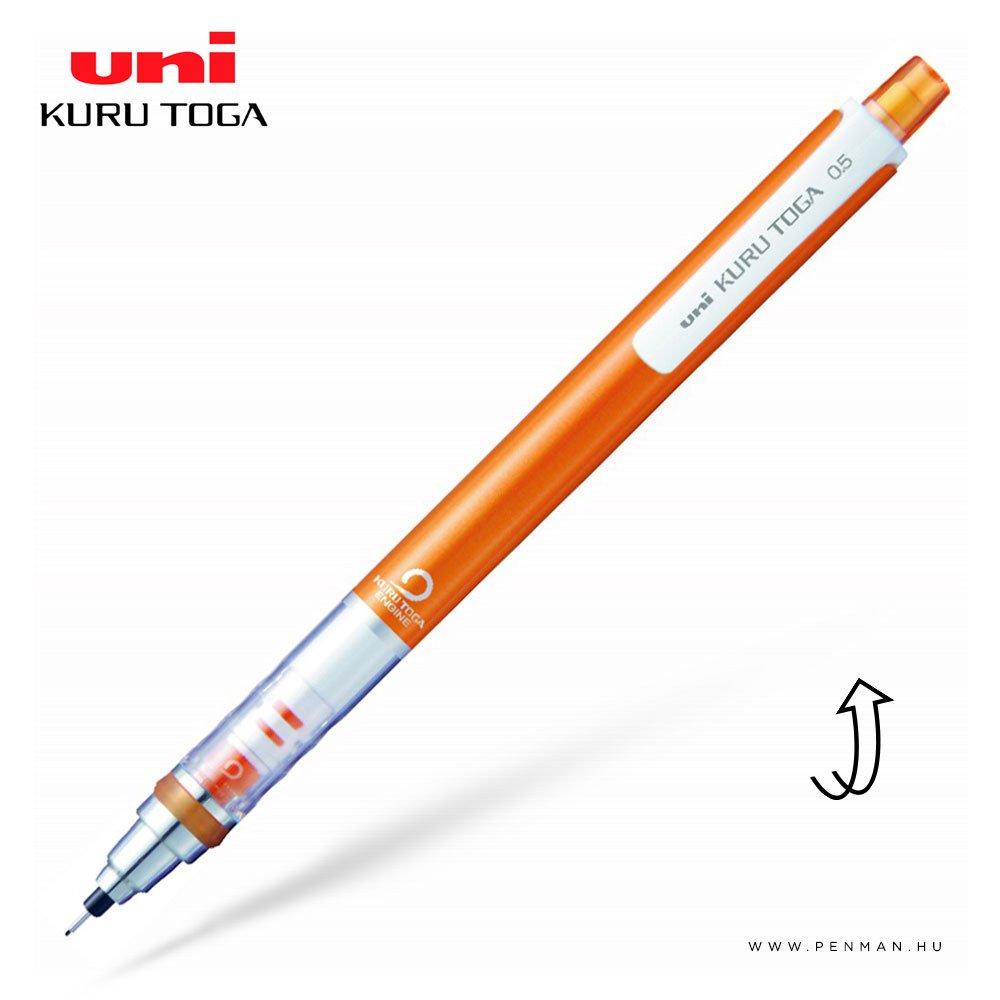 uni kuru toga mechanikus ceruza orange 05mm 001