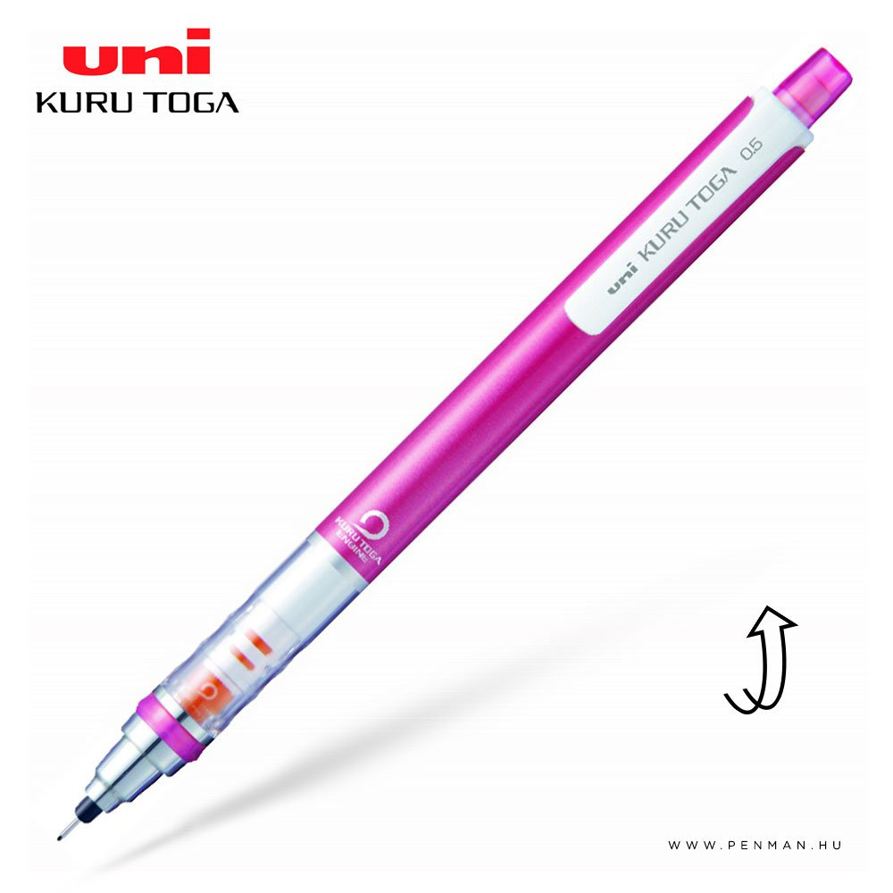uni kuru toga mechanikus ceruza pink 05mm 001