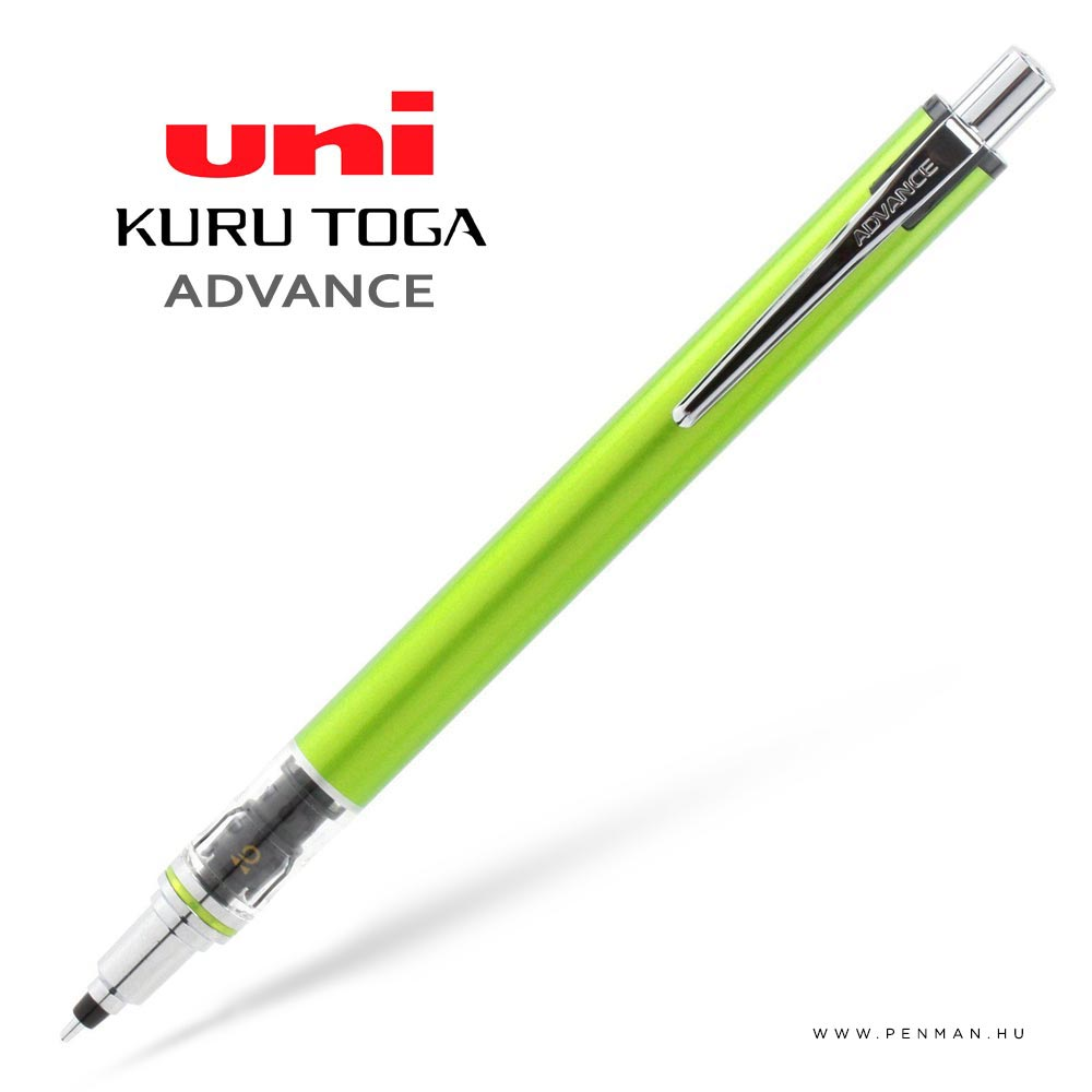 uni kurutoga advance green 03 penman