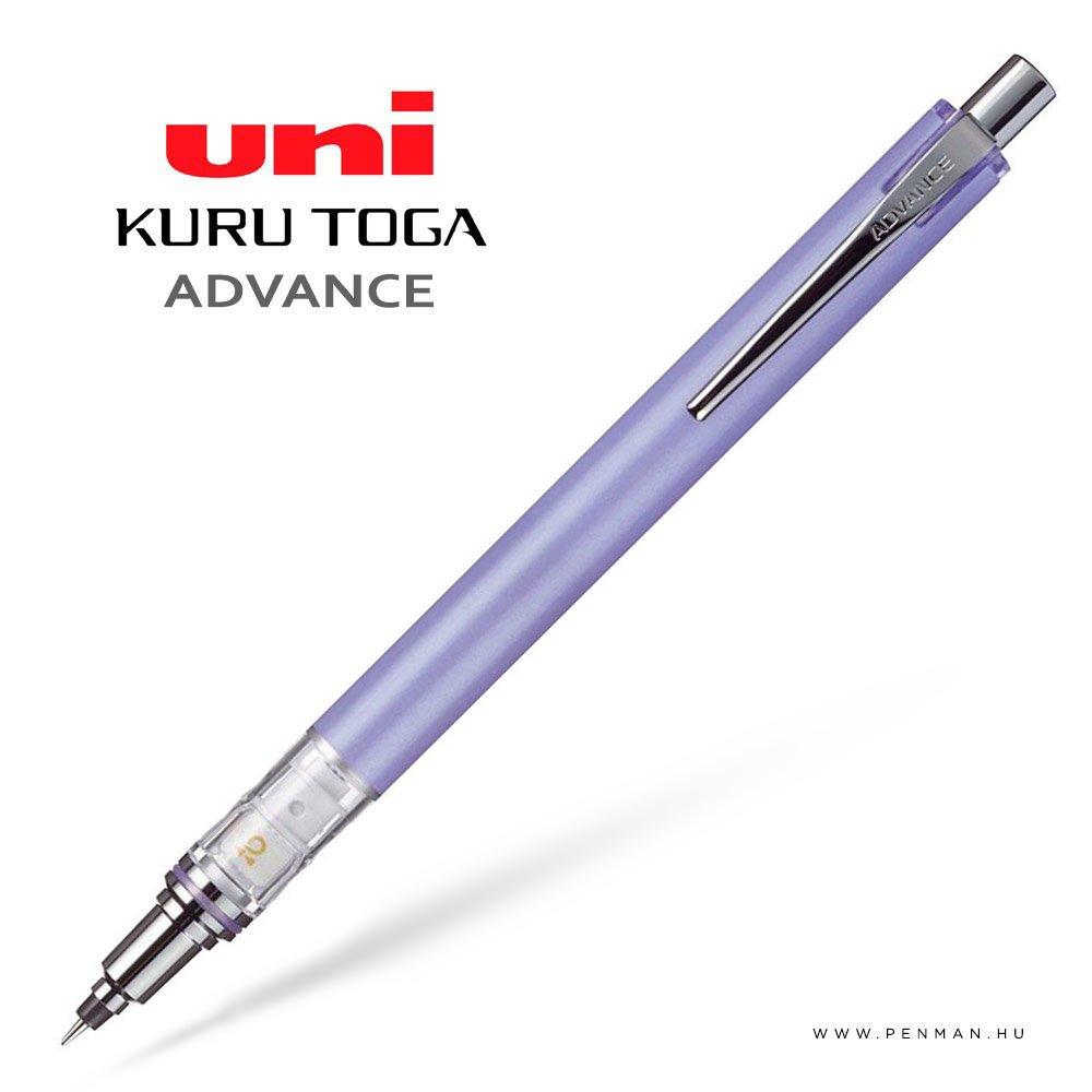 uni kurutoga advance levander 03 mechanikus ceruza