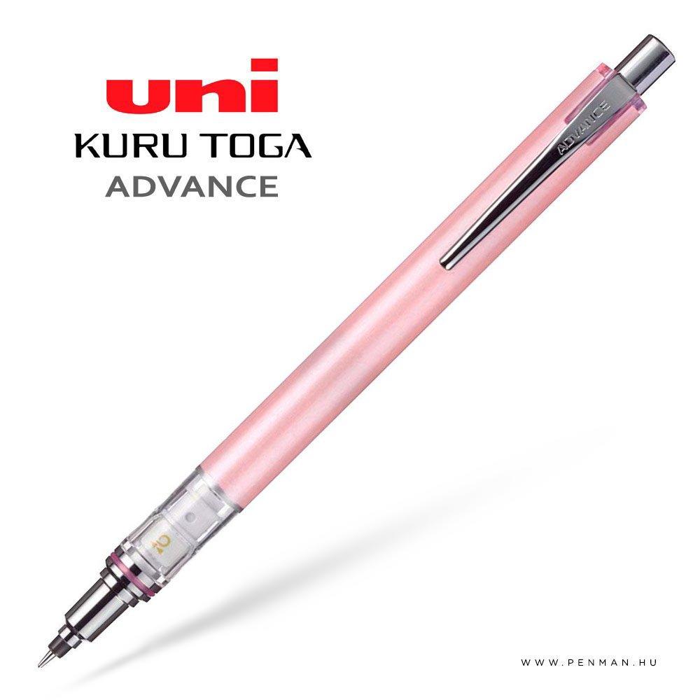 uni kurutoga advance pink 03 mechanikus ceruza