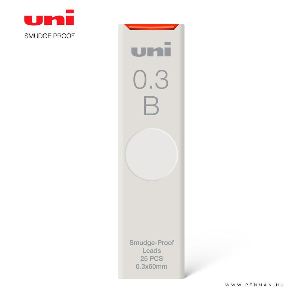 uni smudge proof grafit betet 03 b 1001
