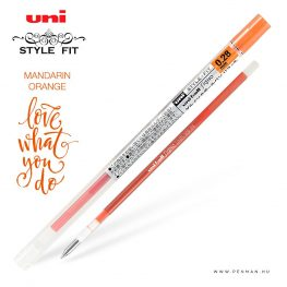 uni style fit 028 refill mandarin orange