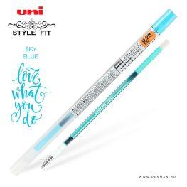 uni style fit 028 refill sky blue