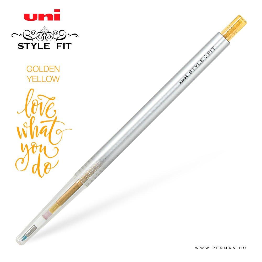 uni style fit 038 single golden yellow