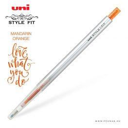 uni style fit 05 single mandarin orange