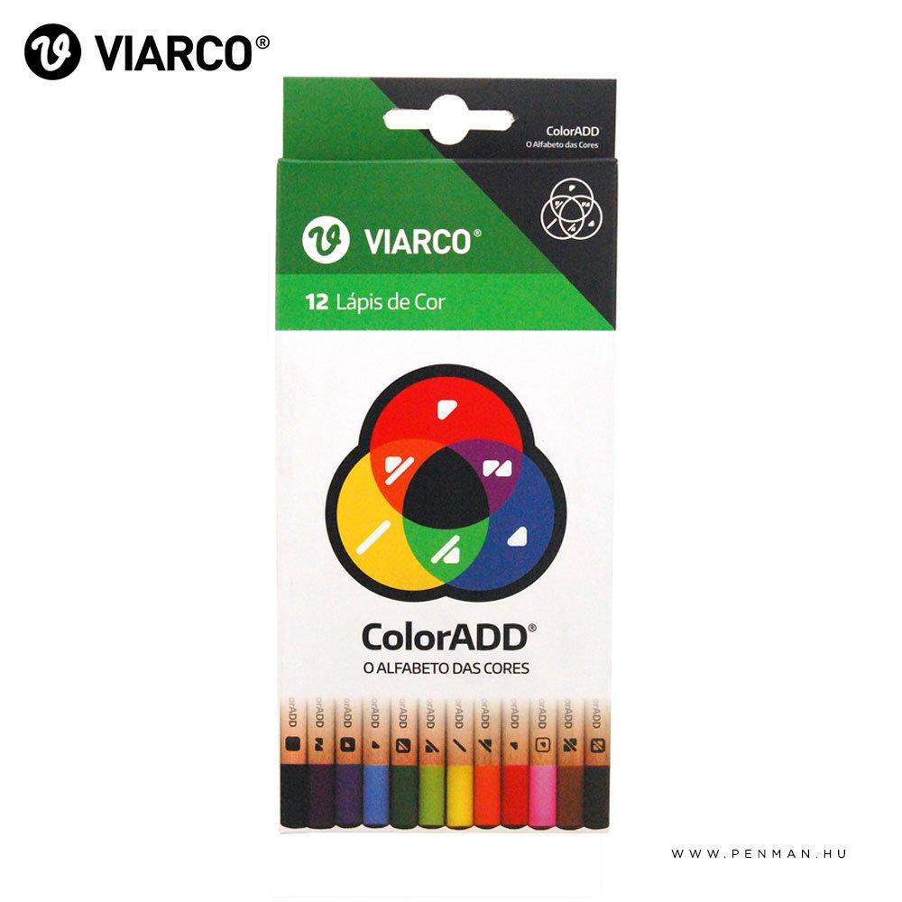 viarco coloradd szines ceruza keszlet 12db 001