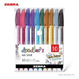 zebra doodlerz 10 glitter zsele toll