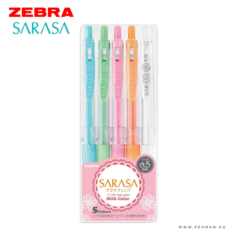 zebra sarasa milk color 5db 1001